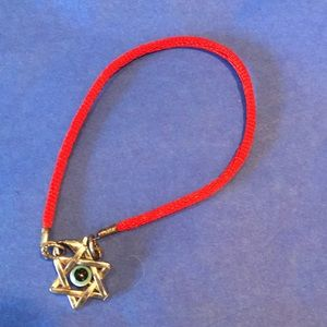 Jewelry - Star of David evil eye bracelet.From Israel
